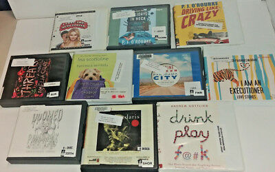 Humor Audio Books Lot of 10 on CD FREE SHIPPING Unabridged A-5