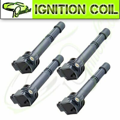 Set of 4 Brand New Ignition Coil for Acura RSX Honda Accord Civic Element UF311