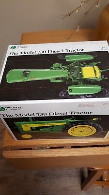 Ertl John Deere 730 Precision #13 In Box and New - Broken Brake