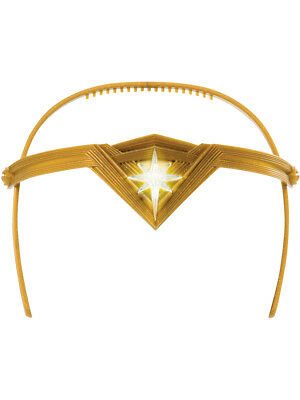 Wonder Woman Justice League Light Up Tiara Costume Accessory