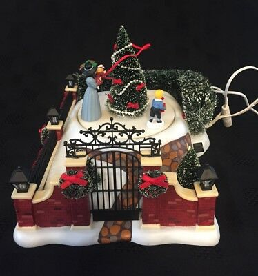 DEPT 56 Dickens' Victorian Christmas Scene RETIRED RARE ANIMATED MUSIC 2004