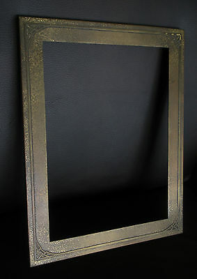 Rare Smith Metal Arts Co Arts and Crafts Orientalist Frame Brass/Bronze? e1900's