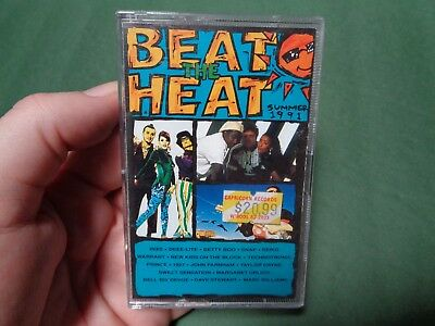 BEAT THE HEAT 1991 compilation_used cassette_ships from AUS!_zz78_B4