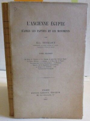 1909 L'Ancienne Egypt 2 V French, Egyptian Archaeology Papers, Louvre Papyrus