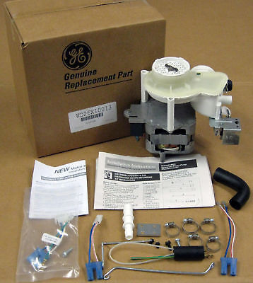 Brand NEW OEM GE DISHWASHER MOTOR AND PUMP ASSEMBLY PART # WD26X10013