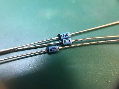 1N829A Temperature-Compensated Zener Reference Diodes  Reference Only % 0.0005%