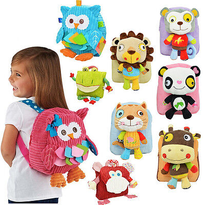Cute Cartoon Soft Animal Children Baby School Bag Girl Boy kids Backpack Mochila