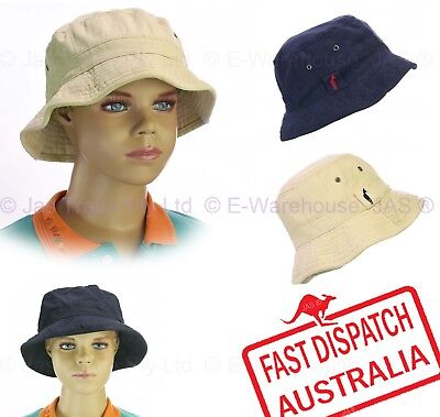 Preschool Preschooler Youth Kid Child Boy Girl Bucket Cotton Sun Hat Cap Cotton