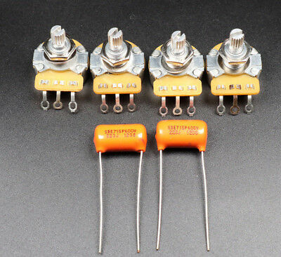 CTS A500K Post & Sprague .022uf capacitors For Gibson SG/Junior