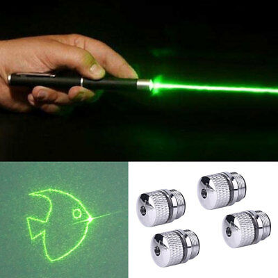 4Pcs Converter Light Refraction Beam Head Parts For Laser Pointer Universal