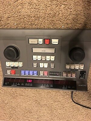 Sony PVE-500 Compact A/B Roll Edit Control Unit *Tested Working*