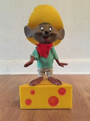 Vintage 1971 Warner Bros. Speedy Gonzalez Bank by  R. DAKIN & CO.