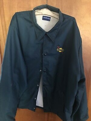 SUNOCO VINTAGE GAS STATION ATTENDANT-JACKET COAT--XXL. Made in USA