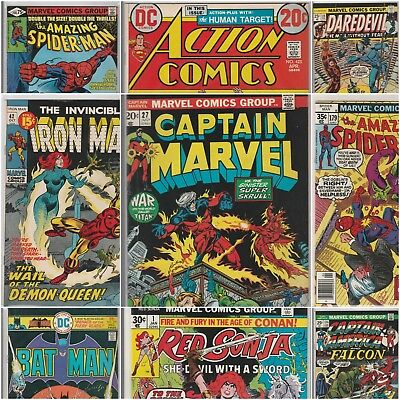 5 High Grade Silver/Bronze Comics from $5,000 collection (Marvel/DC)-Don't Miss!