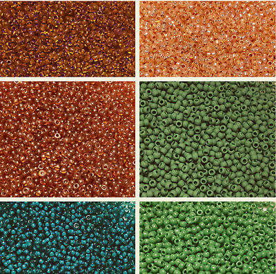 CHOOSE COLOR!! 10/0 Czech Traditional Glass Seed Beads-38 Grams Bag