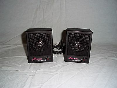 Amplifier speaker system micro diffusori portable with box new vintage