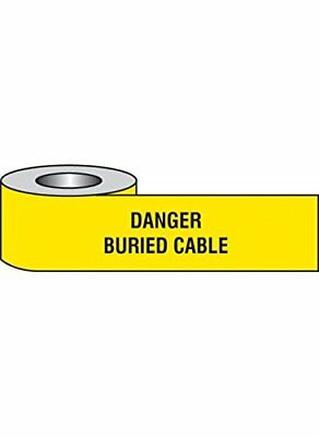 "Caledonia Signs 58638 Underground Tape, ""Danger Buried Cable"""