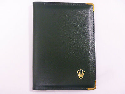 ROLEX Deluxe Leather Passport Card Holder Case Wallet - Code 0068.08.05