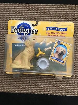 Pedigree Most Beautiful Dogs Best In Show Collectible Dog Golden Retriever Toy