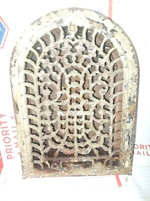 Antique/Vintage Cast Iron Arch Top Decorative Dome Heat Grate Wall Register