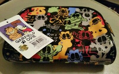 Brand New Garfield PVC zipper pouch bag licensed by PAWS