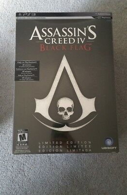 Assassin Creed IV: Black Flag ps3 Limited Edition Sealed