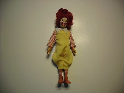 Vintage Remco 1976 Mcdonalds Ronald Mcdonald Doll 8 1/4  In Tall