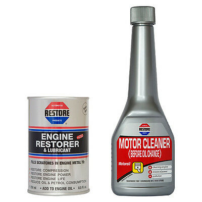 Clean & Restore a 1 Litre Engine - AMETECH ENGINE RESTORER 250ML + MOTOR CLEANER