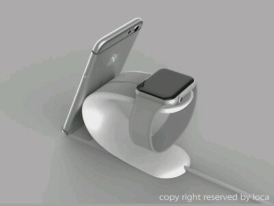 Apple Watch Stand, LOCA Mobius 2-in-1 Smart Watch Charging Holder and Cell.
