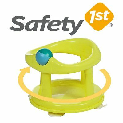 Baby Bath Seat Safety Swivel (Lime) 6-12m FAST DELIVERY