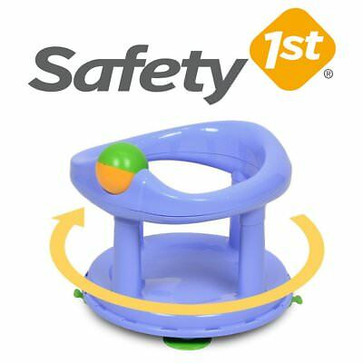 Baby Bath Seat Safety Swivel (Pastel Blue) 6-12m FAST DELIVERY
