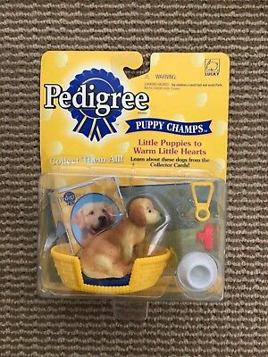 Pedigree Puppy Champs new in package golden retriever