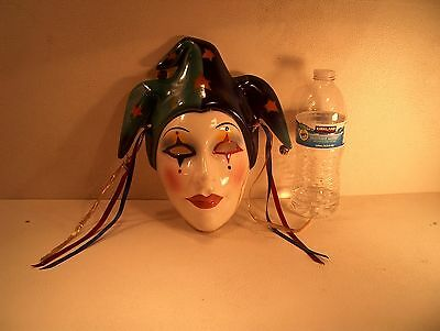 Vintage Clay Art  Jester Sf -Usa 12/91