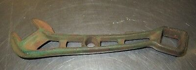 Old Brown Manley Wrench No. 1AA Horse Drawn Plow Green Paint