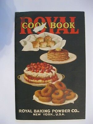 Vintage 1927 Antique Cook Book Royal Baking Powder Complete 49 pages YUM