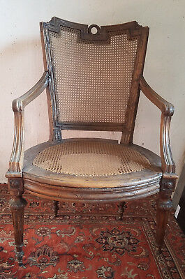 Superb armchair period Louis XVI to restore 18th