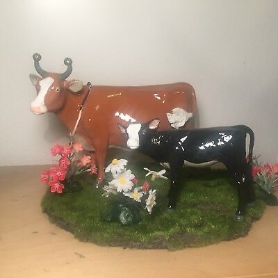 Breyer Customized Cow and Calf