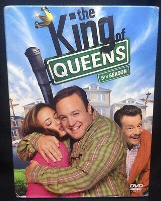 The King of Queens: The Complete Fifth 5th Season DVD - NEW w SLIPCOVER REGION 1