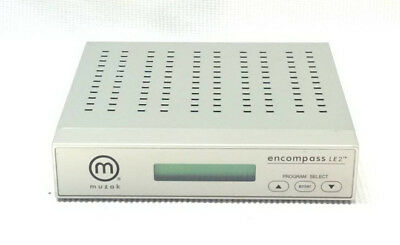 Muzak Encompass LE2 - Digital Satellite Receiver for Music On Hold - SHIPS FREE!