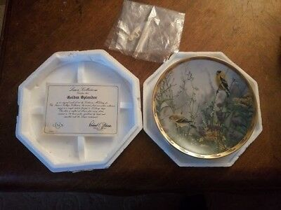 Lenox, Golden Splendor, Catherine McClung Collector Plate, Exc., 1992 IN THE BOX