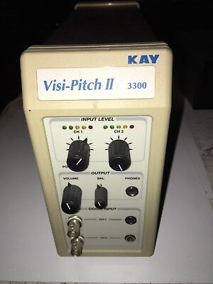 Kay Model No 3300 Visi-Pitch Ii Speech Therapy Unit