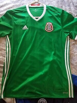27e9082e9 Adidas Mexico Official Adult Jersey 2016 2017 - Authentic Adidas - Brand  New.