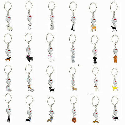 Cute Fashion Pet Dog Animal Purse Hand Bag Keyring Pendant Keychain Jewelry Gift
