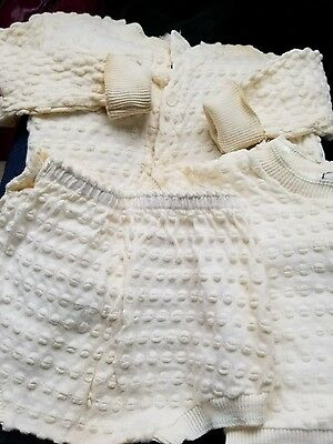 VINTAGE 3pc baby outfit