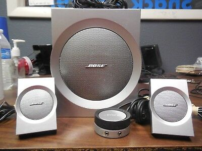 Bose Companion® 3 Series II System - Multi-Media Speaker System, Excellent Cond.
