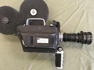 Cinema Products CP16 Camera Angenieux 12-120mm f2.2 Lens 16mm Film Mitchell USA