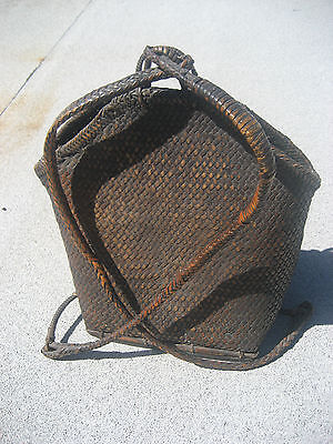 IFUGAO or IGOROT PASIKING or Personal Backpack - Northern Luzon-Old