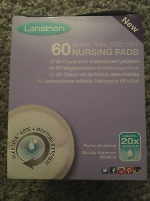 60x Pack Of Nursing Breast Pads