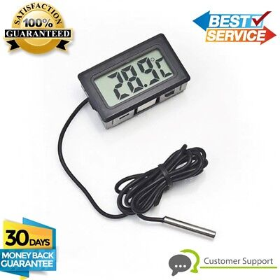 New Digital LCD In/outdoor  Aquarium Fish Tank Car Oil water Temperature meter