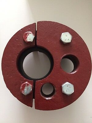 """4"""" Cast Iron Split-Top Single-Drop Pipe Water Well Casing Sanitary Seal"""